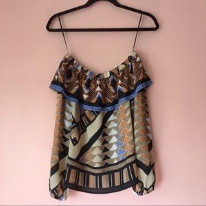 H&M Tops - H&M Tribal Print Blouse